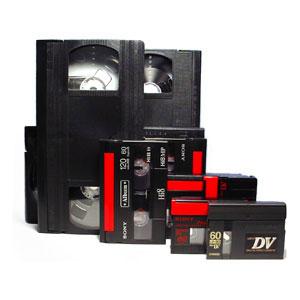 videocass distintos formatos